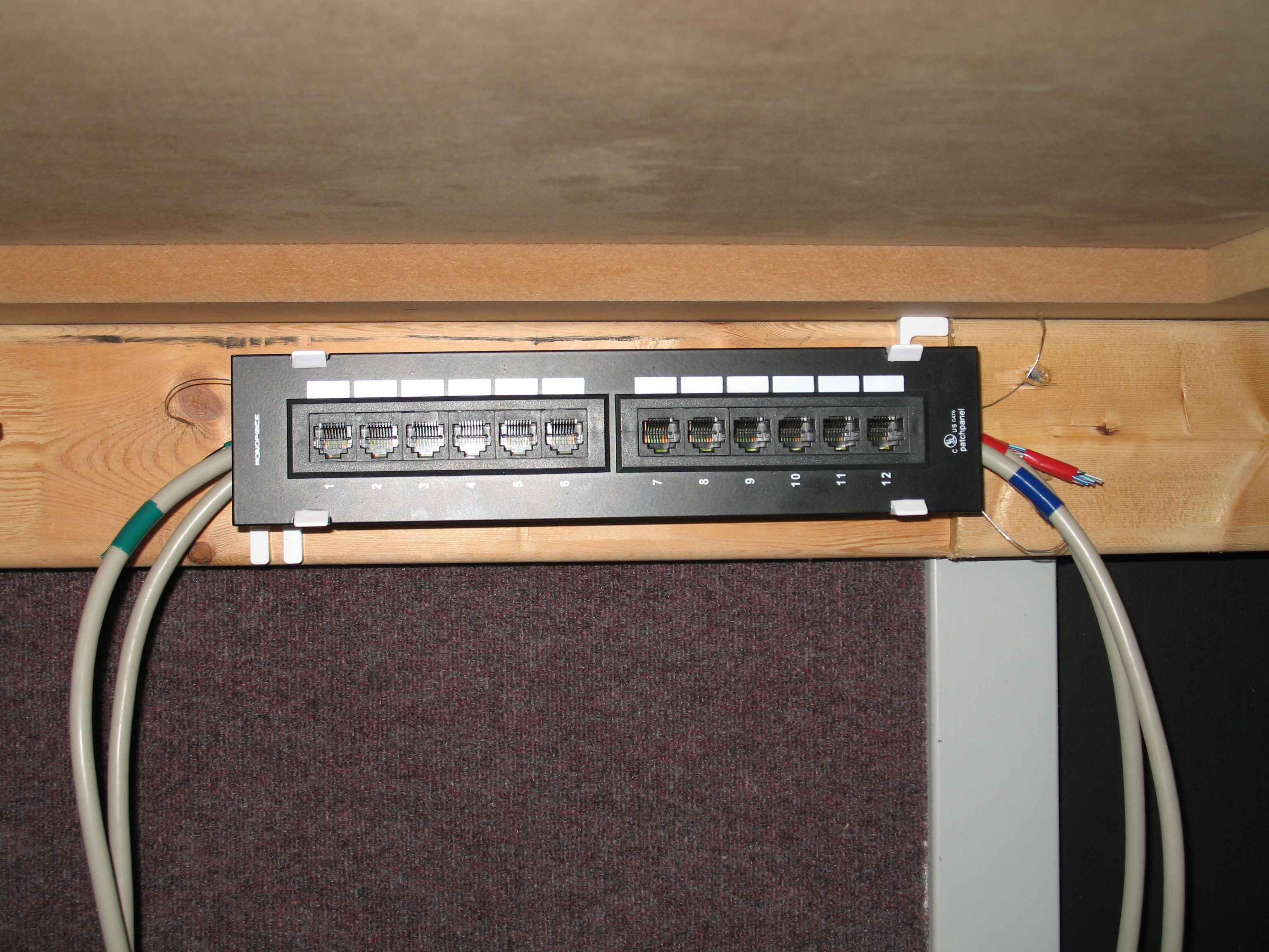 patch panel wiring table   24 wiring diagram images