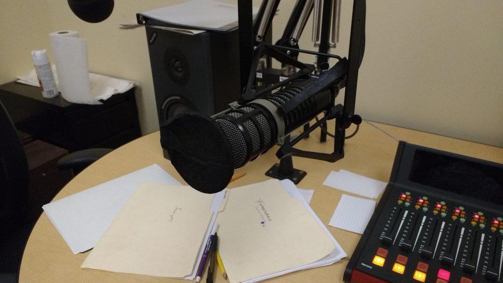 Mic Cover in Practice Studio